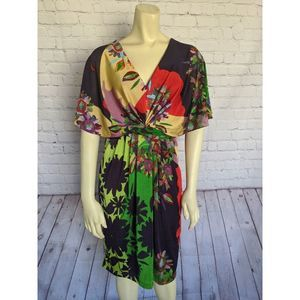RANNA GILL Abstract Boho Dress Anthropologie
